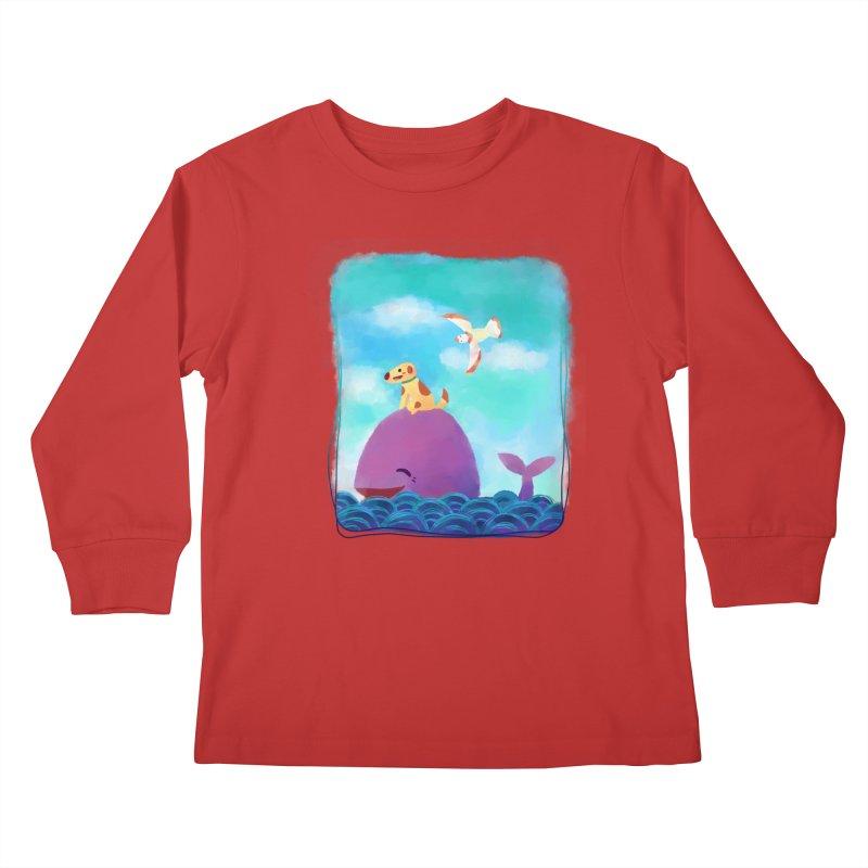 The Adventure Kids Longsleeve T-Shirt by La La Lune