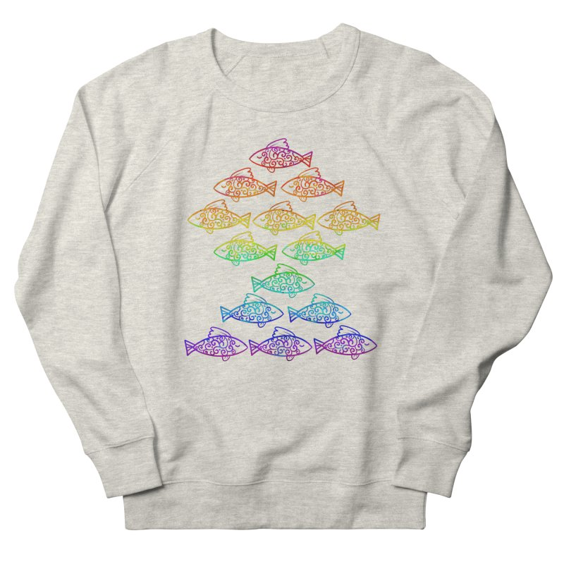 Fish of Colors Women's Sweatshirt by La La Lune