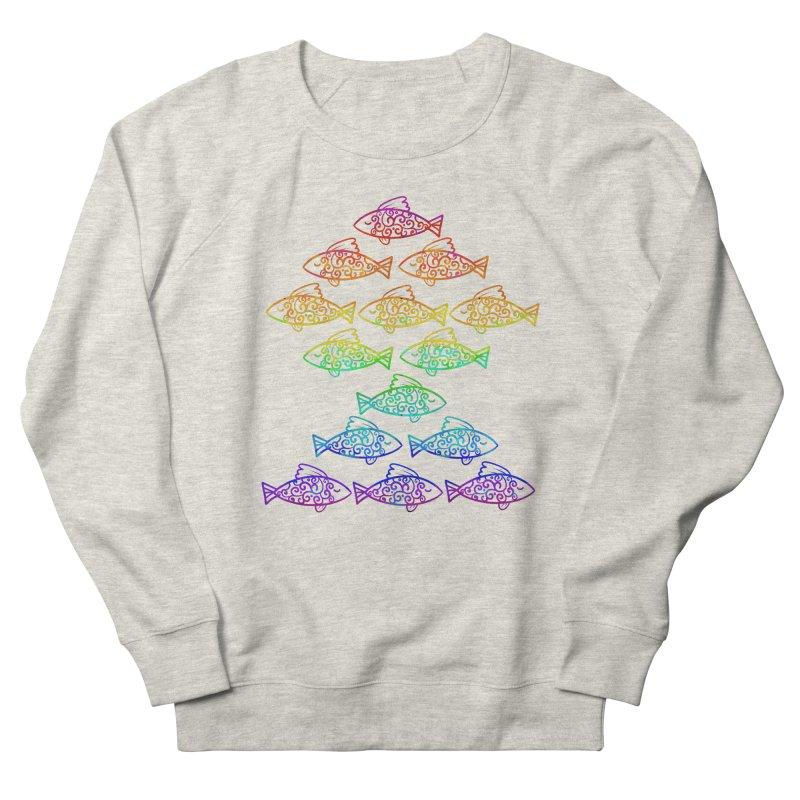 Fish of Colors Men's Sweatshirt by La La Lune