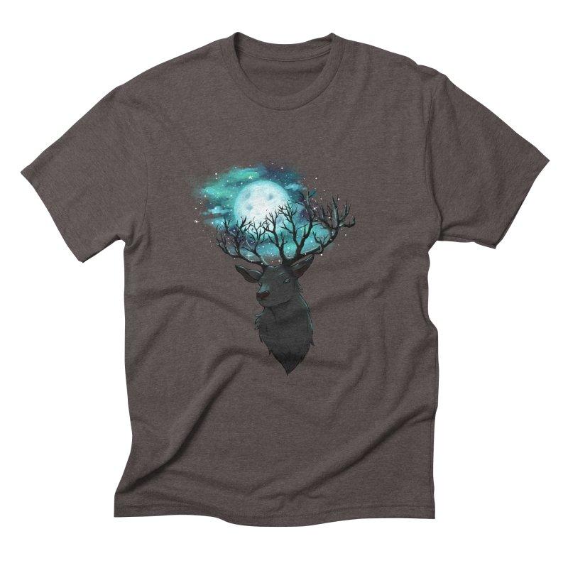Lunar Men's Triblend T-Shirt by La La Lune