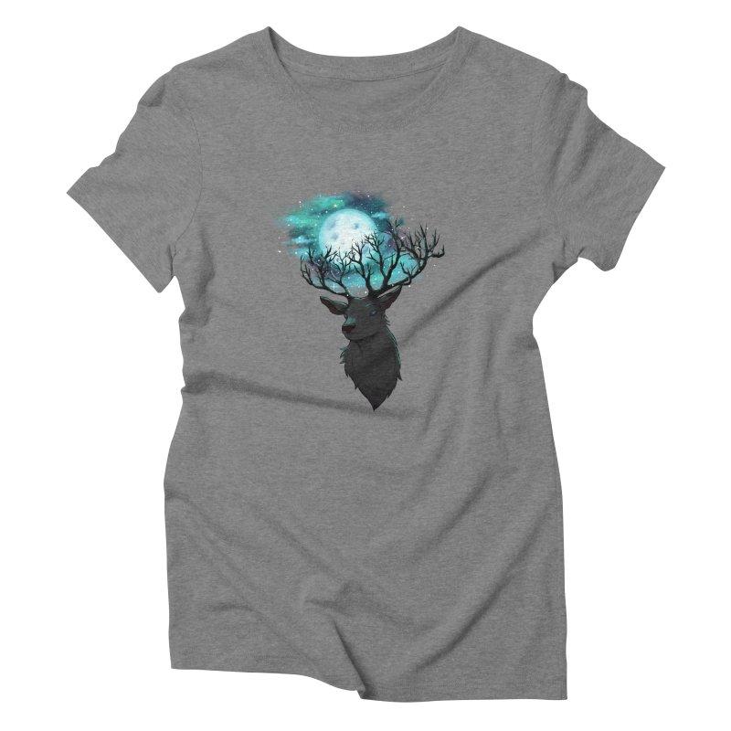 Lunar Women's Triblend T-shirt by La La Lune
