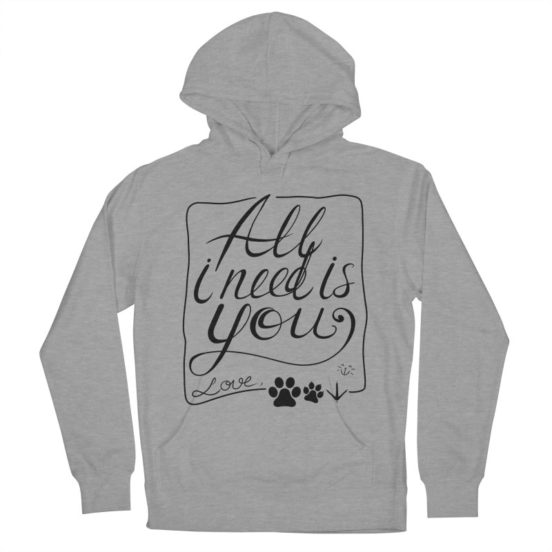 From pets with love Women's Pullover Hoody by La La Lune