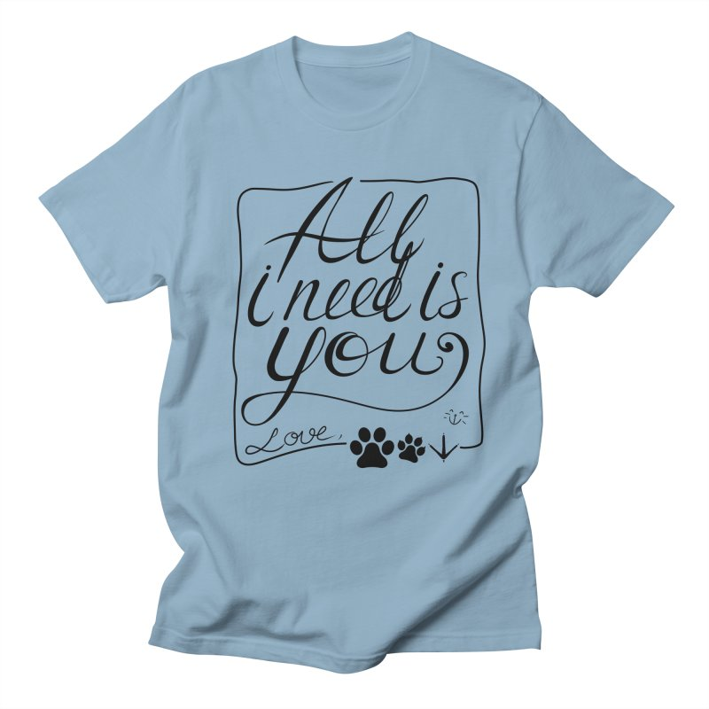 From pets with love Men's T-Shirt by La La Lune