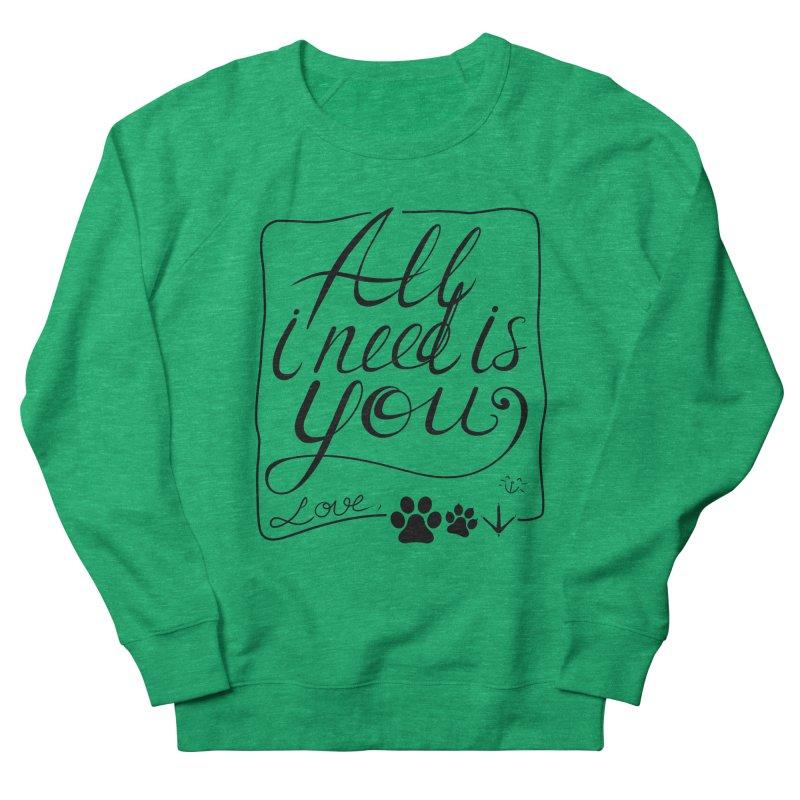 From pets with love Men's Sweatshirt by La La Lune