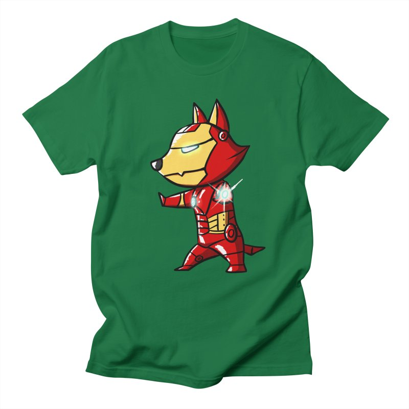 Iron Corgi Men's T-shirt by La La Lune