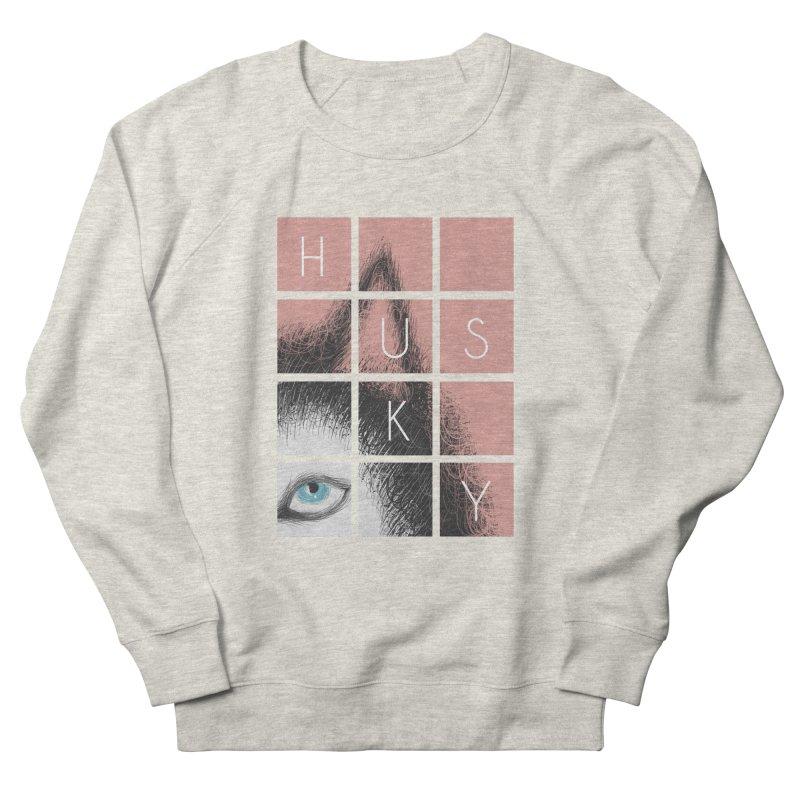 Husky Men's Sweatshirt by La La Lune