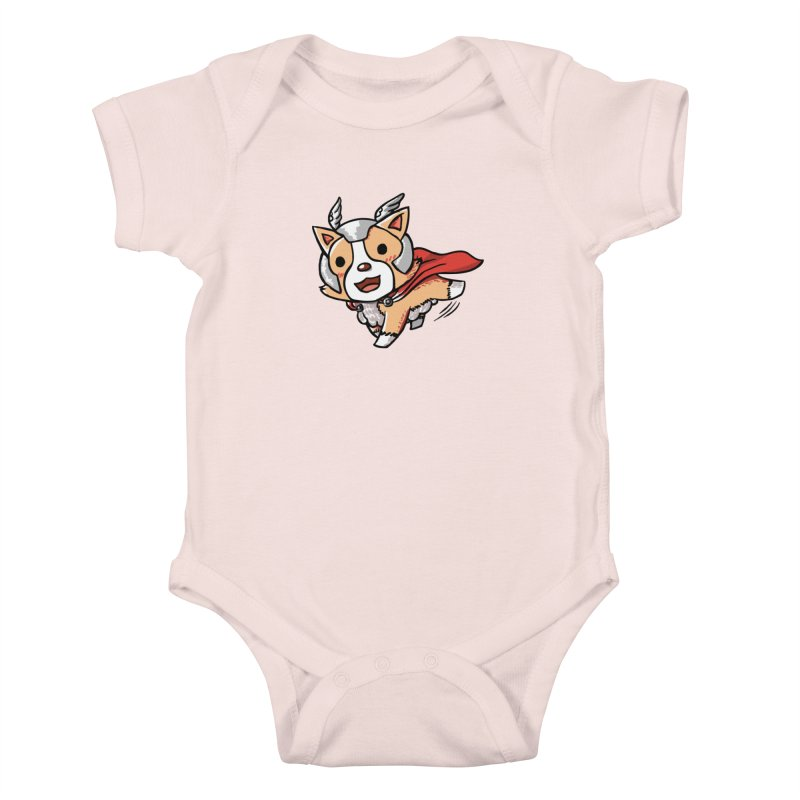 Thorgi Kids Baby Bodysuit by La La Lune