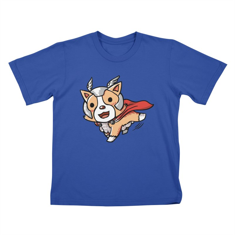 Thorgi Kids T-shirt by La La Lune