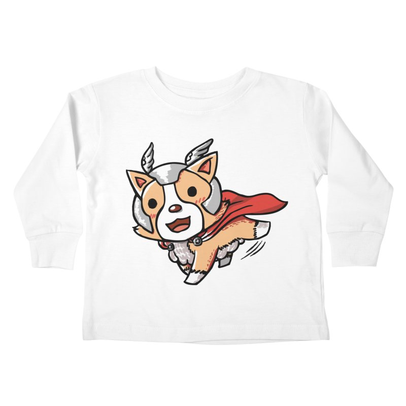 Thorgi Kids Toddler Longsleeve T-Shirt by La La Lune