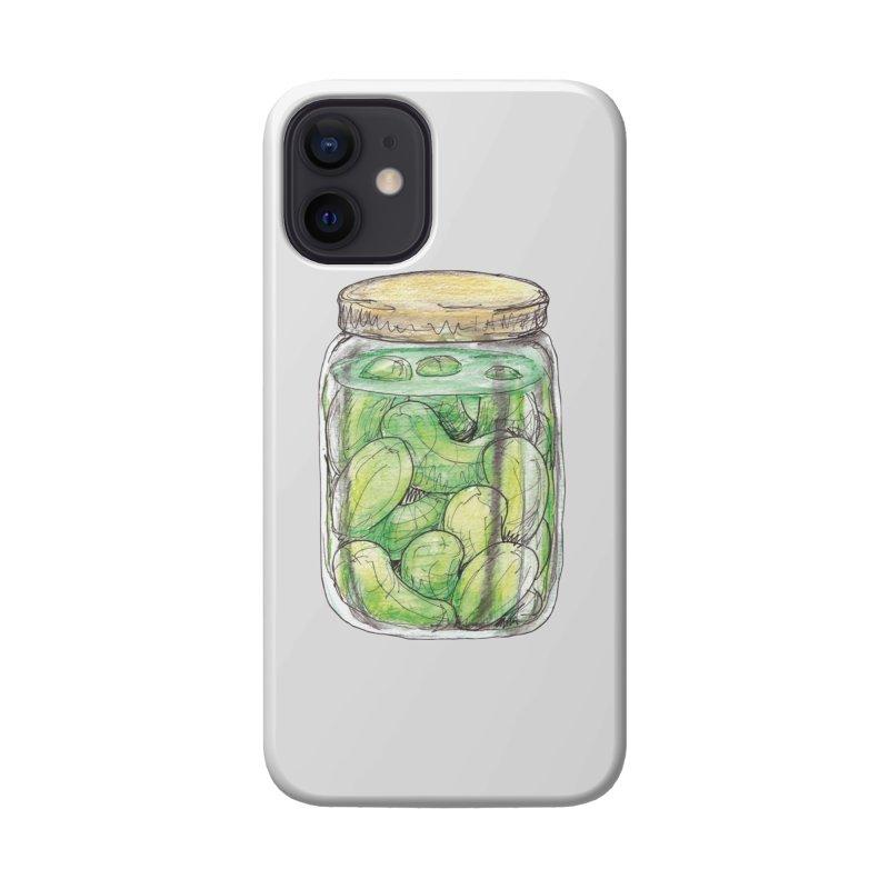 Pickle Jar Accessories Phone Case by The Pickle Jar's Artist Shop