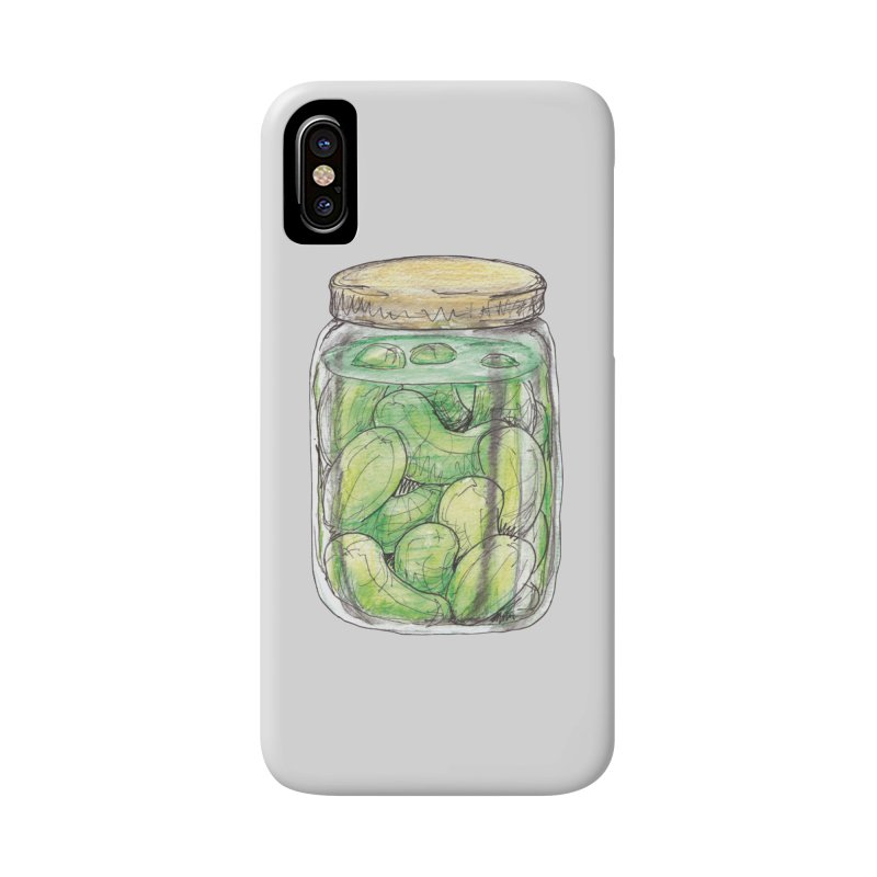 Pickle Jar Accessories Phone Case by The Pickle Jar's Artist Shop