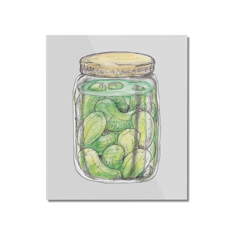 Pickle Jar Home Mounted Acrylic Print by The Pickle Jar's Artist Shop