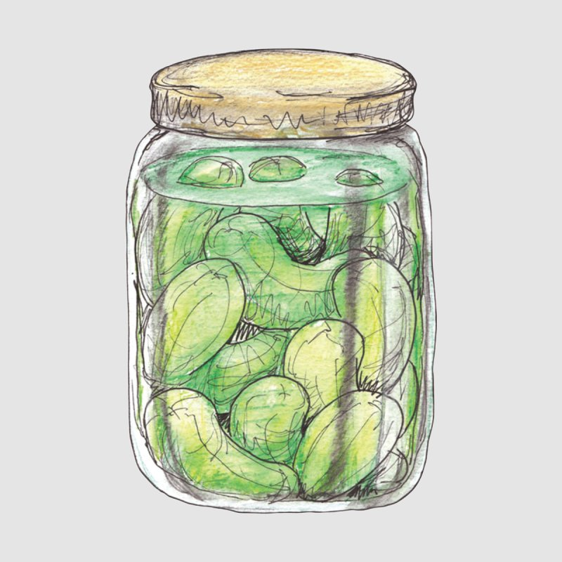 Pickle Jar Accessories Mug by The Pickle Jar's Artist Shop