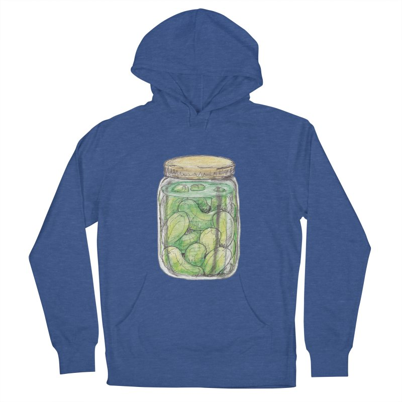 Pickle Jar Men's French Terry Pullover Hoody by The Pickle Jar's Artist Shop