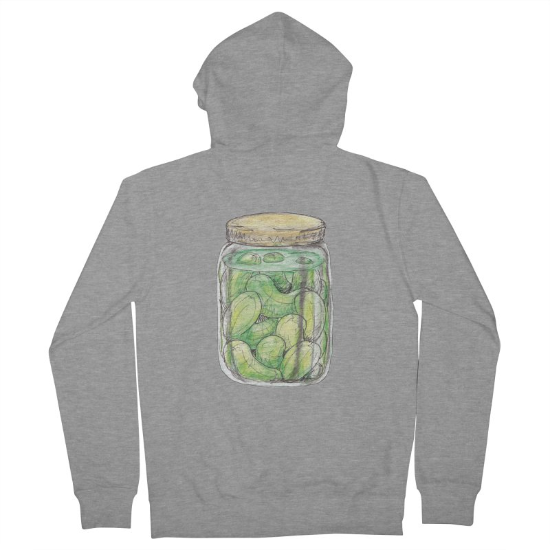 Pickle Jar Men's Zip-Up Hoody by The Pickle Jar's Artist Shop
