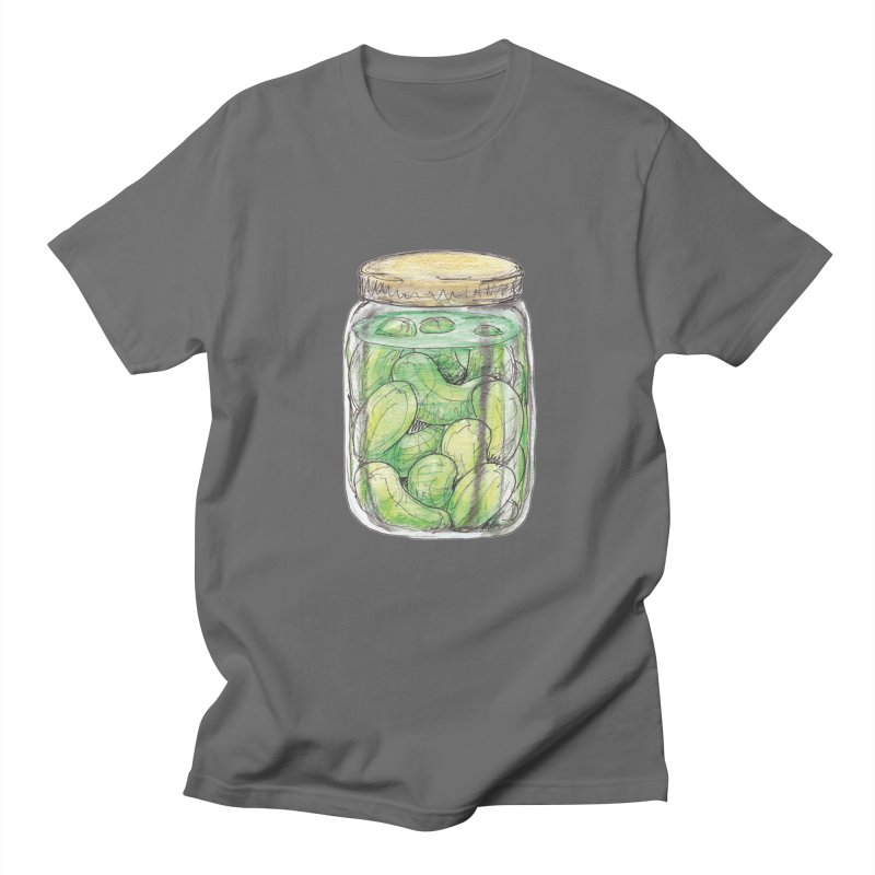 Pickle Jar Men's Regular T-Shirt by The Pickle Jar's Artist Shop
