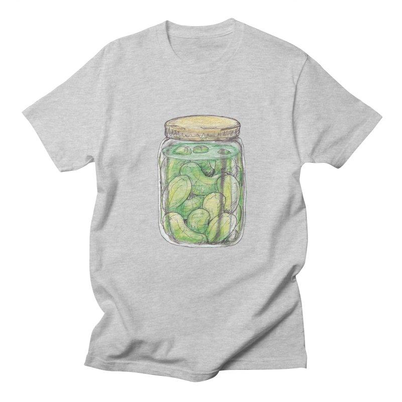 Pickle Jar Men's Regular T-Shirt by The Pickle Jar's Artist Shop