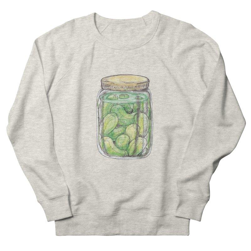 Pickle Jar Women's French Terry Sweatshirt by The Pickle Jar's Artist Shop