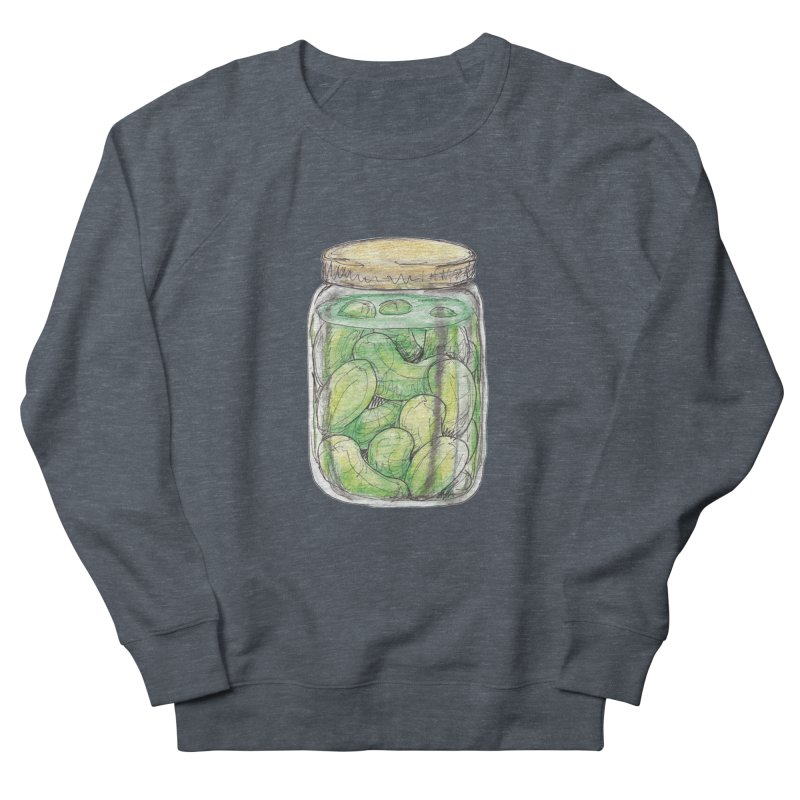 Pickle Jar Men's Sweatshirt by The Pickle Jar's Artist Shop