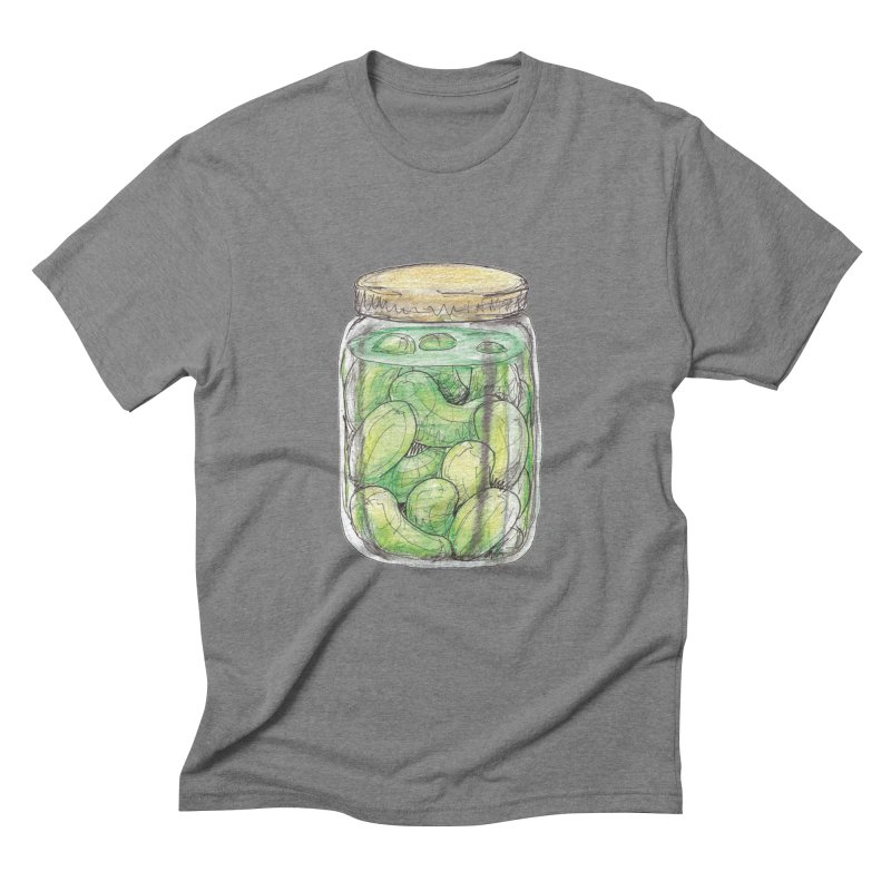 Pickle Jar Men's Triblend T-Shirt by The Pickle Jar's Artist Shop