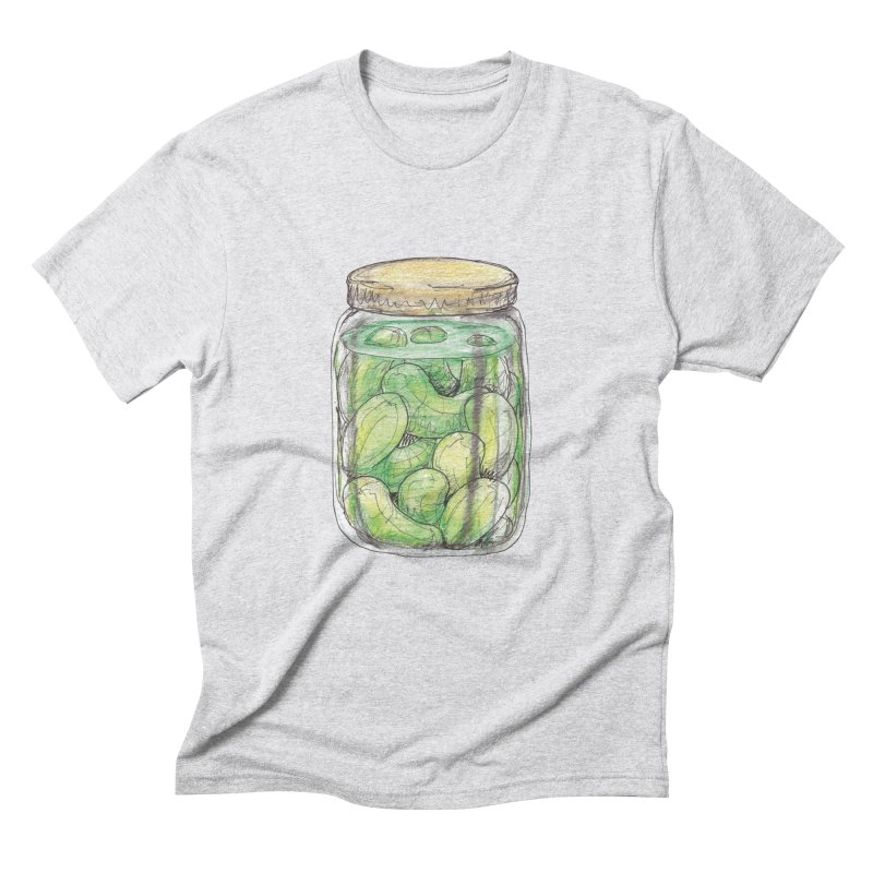 Pickle Jar Men's Triblend T-Shirt by The Pickle Jar's Artist Shop
