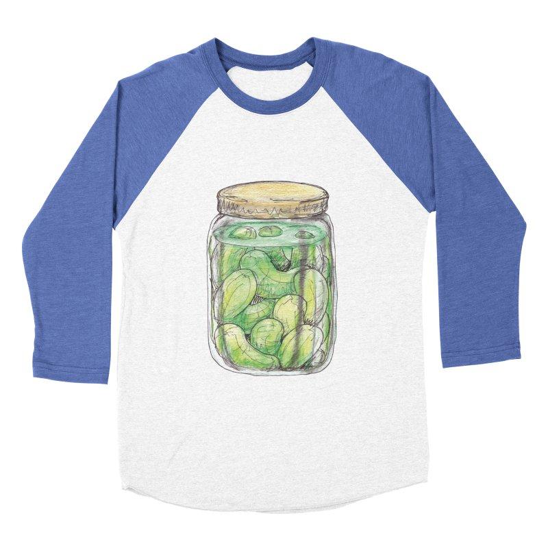 Pickle Jar Men's Baseball Triblend Longsleeve T-Shirt by The Pickle Jar's Artist Shop