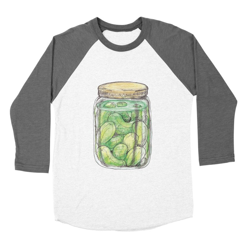Pickle Jar Men's Baseball Triblend T-Shirt by The Pickle Jar's Artist Shop