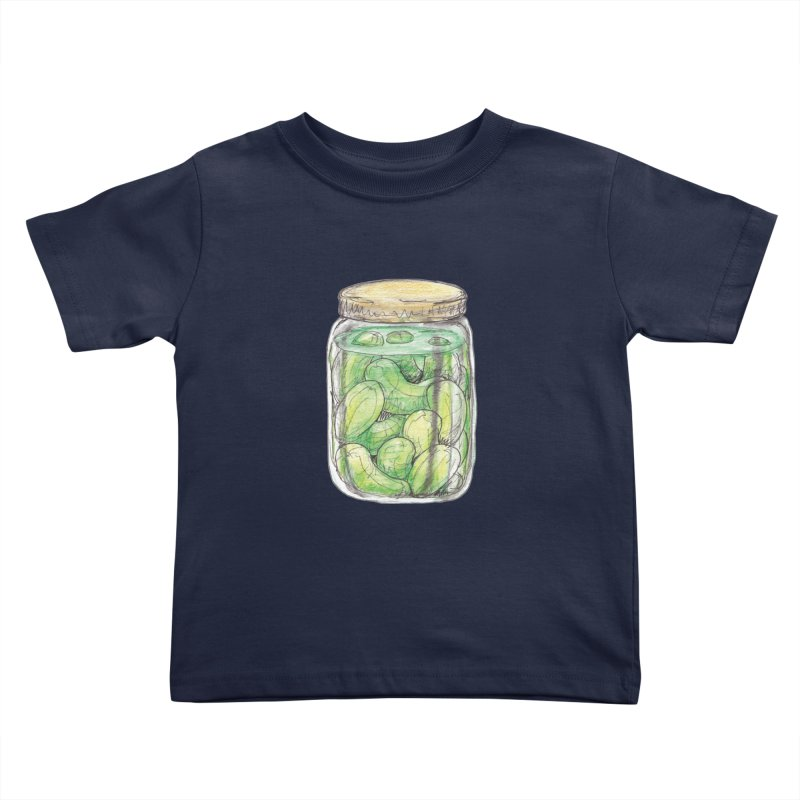 Pickle Jar Kids Toddler T-Shirt by The Pickle Jar's Artist Shop