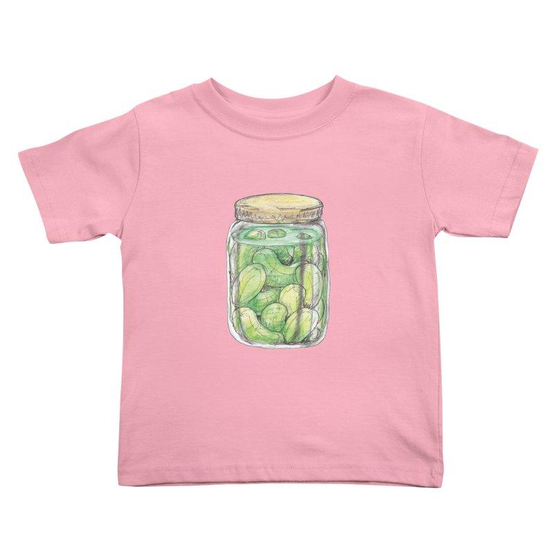 Pickle Jar Kids Toddler T-Shirt by The Pickle Jar's Artist Shop