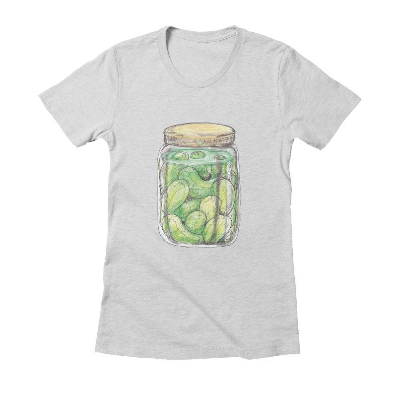 Pickle Jar Women's T-Shirt by The Pickle Jar's Artist Shop