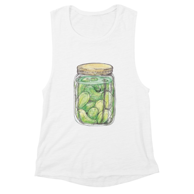 Pickle Jar Women's Muscle Tank by The Pickle Jar's Artist Shop