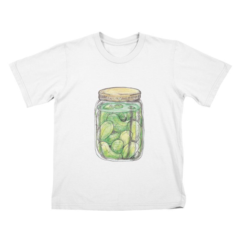 Pickle Jar Kids T-shirt by The Pickle Jar's Artist Shop