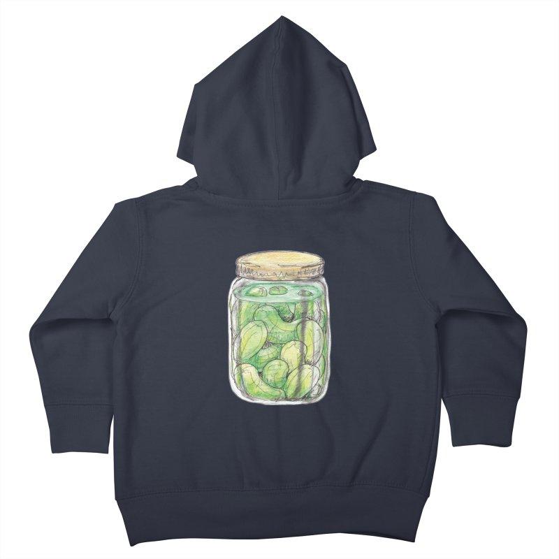 Pickle Jar Kids Toddler Zip-Up Hoody by The Pickle Jar's Artist Shop
