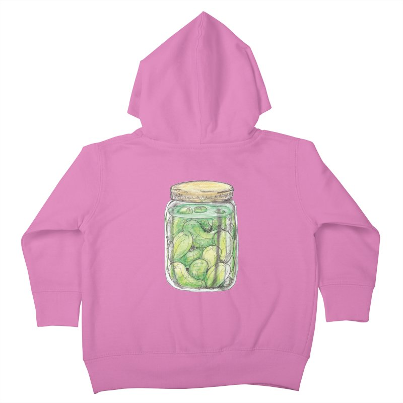 Pickle Jar Kids Toddler Zip-Up Hoody by The Pickle Jar's Artist Shop
