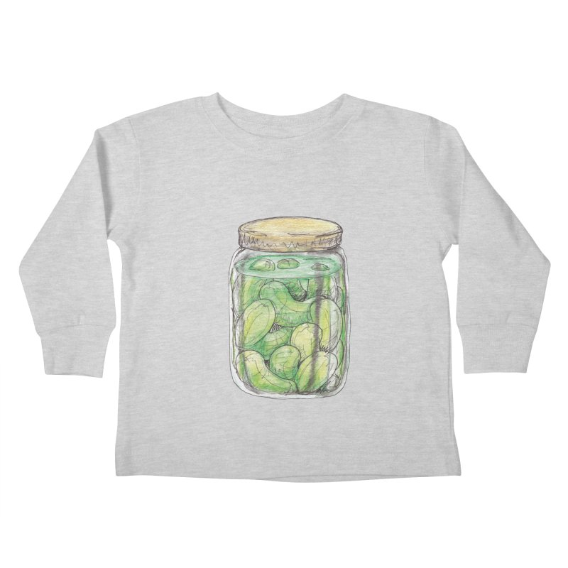 Pickle Jar Kids Toddler Longsleeve T-Shirt by The Pickle Jar's Artist Shop
