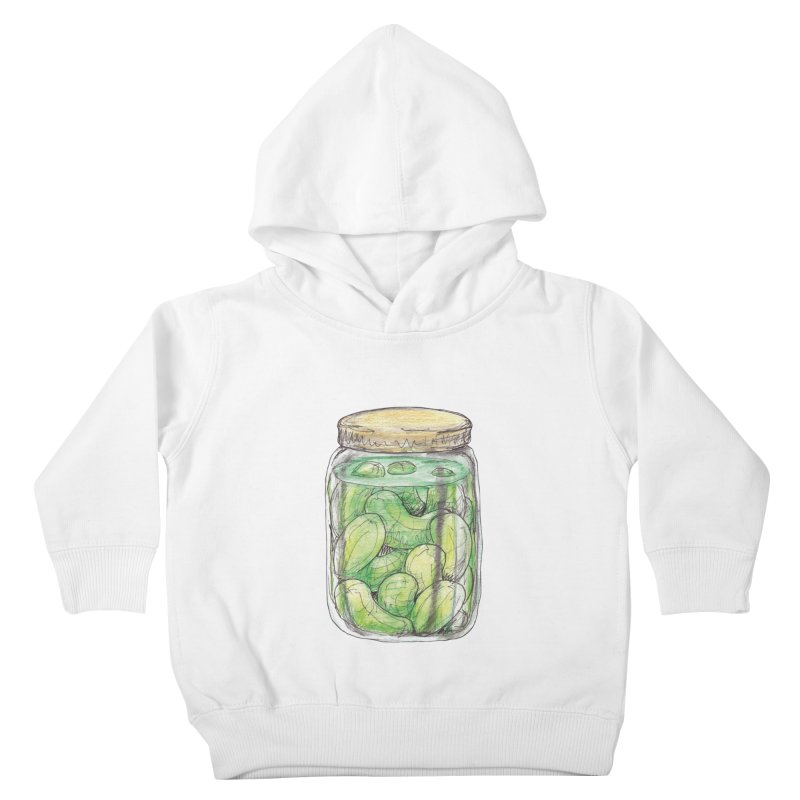 Pickle Jar Kids Toddler Pullover Hoody by The Pickle Jar's Artist Shop