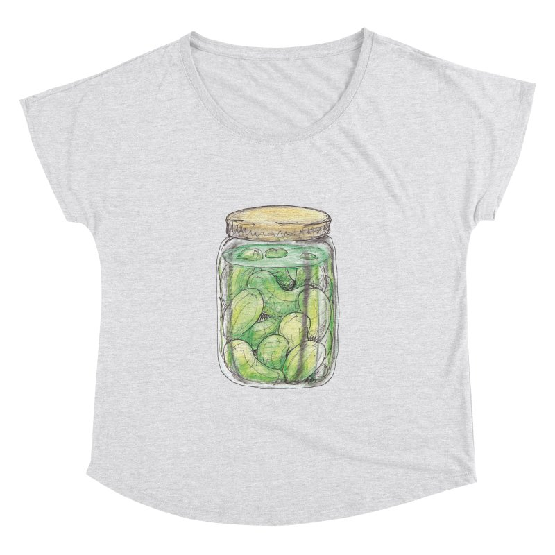 Pickle Jar Women's Dolman Scoop Neck by The Pickle Jar's Artist Shop