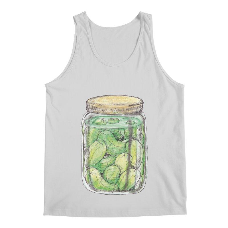 Pickle Jar Men's Regular Tank by The Pickle Jar's Artist Shop