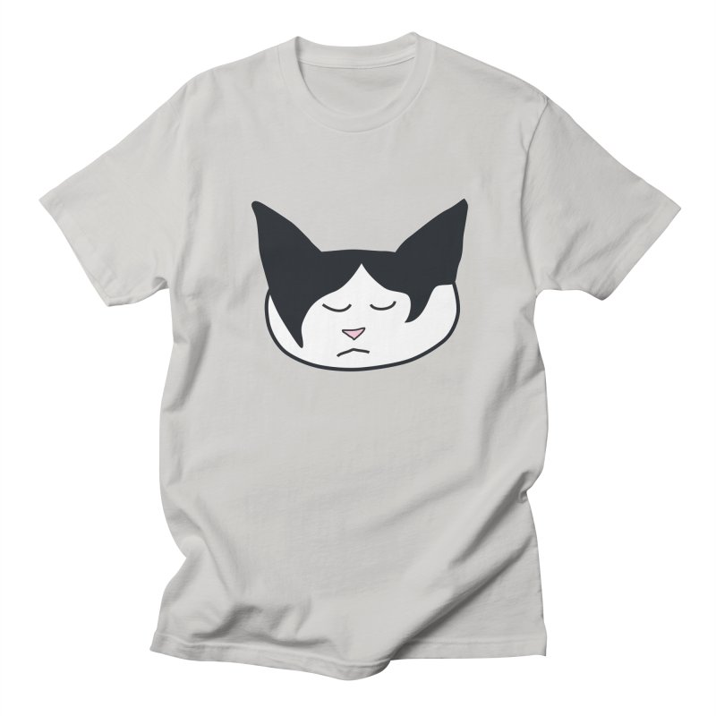 Sleepy Cat Men's Regular T-Shirt by The Pickle Jar's Artist Shop