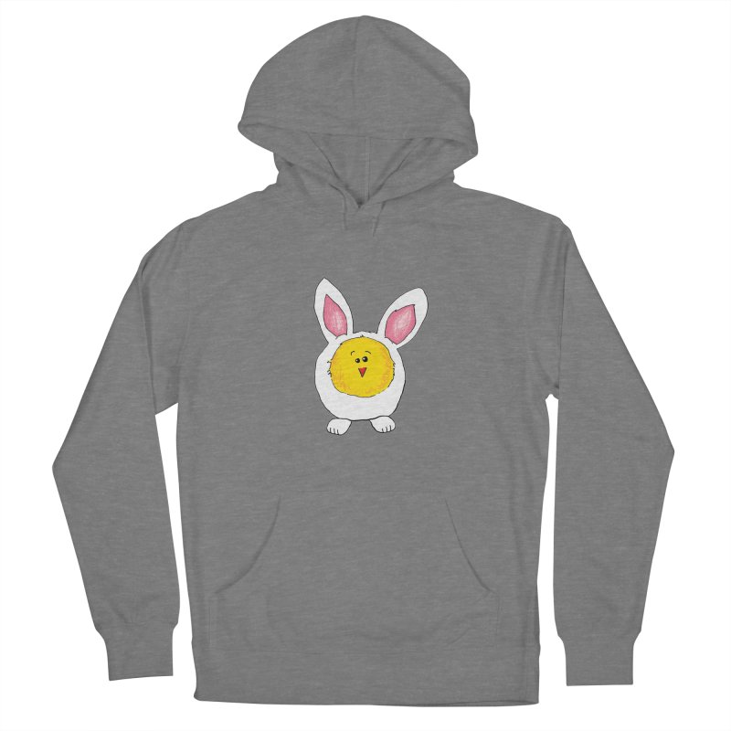 Chick in a Bunny Suit Women's Pullover Hoody by The Pickle Jar's Artist Shop
