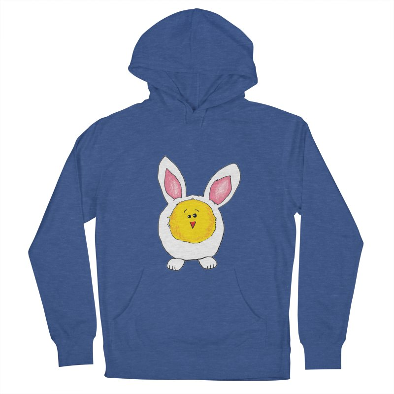 Chick in a Bunny Suit Women's French Terry Pullover Hoody by The Pickle Jar's Artist Shop