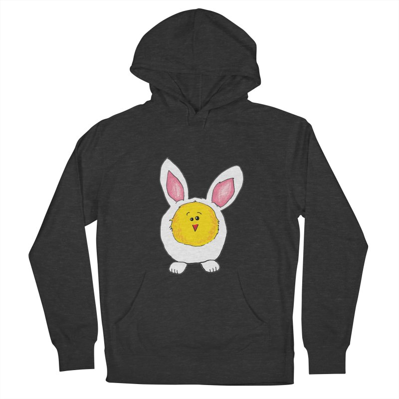 Chick in a Bunny Suit Men's Pullover Hoody by The Pickle Jar's Artist Shop