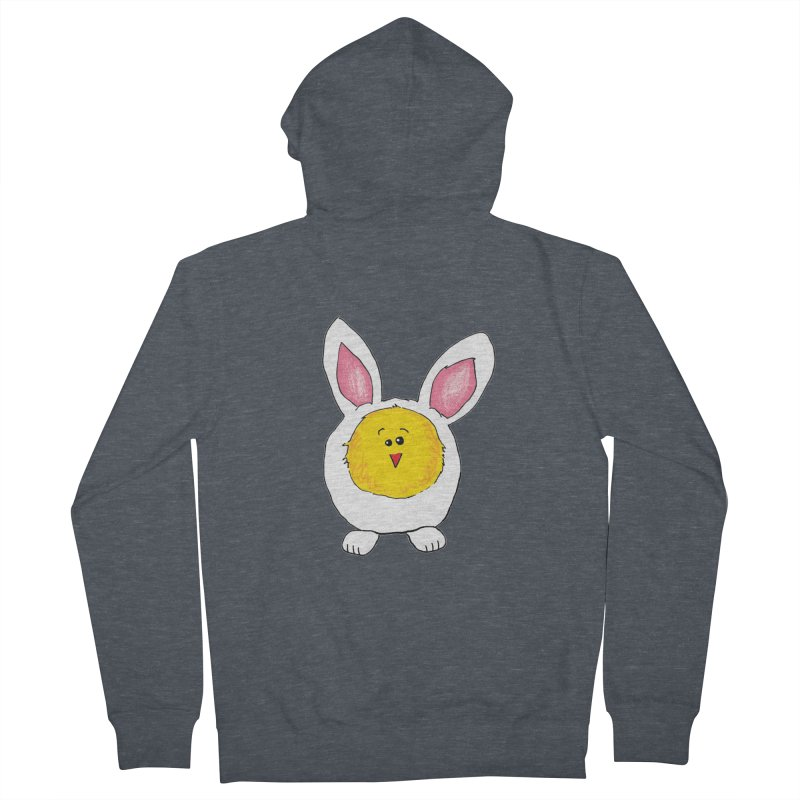 Chick in a Bunny Suit Women's Zip-Up Hoody by The Pickle Jar's Artist Shop