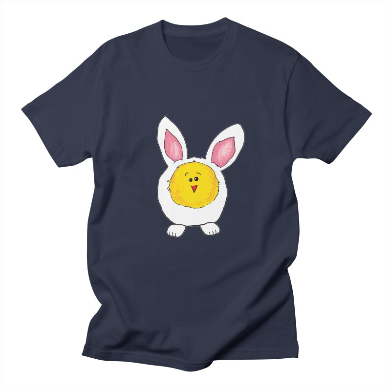 Chick in a Bunny Suit Men's T-shirt by The Pickle Jar's Artist Shop