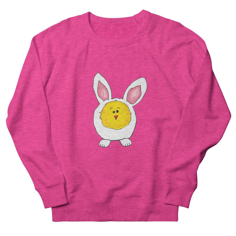 Chick in a Bunny Suit Women's Sweatshirt by The Pickle Jar's Artist Shop