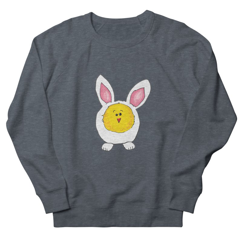 Chick in a Bunny Suit Men's Sweatshirt by The Pickle Jar's Artist Shop