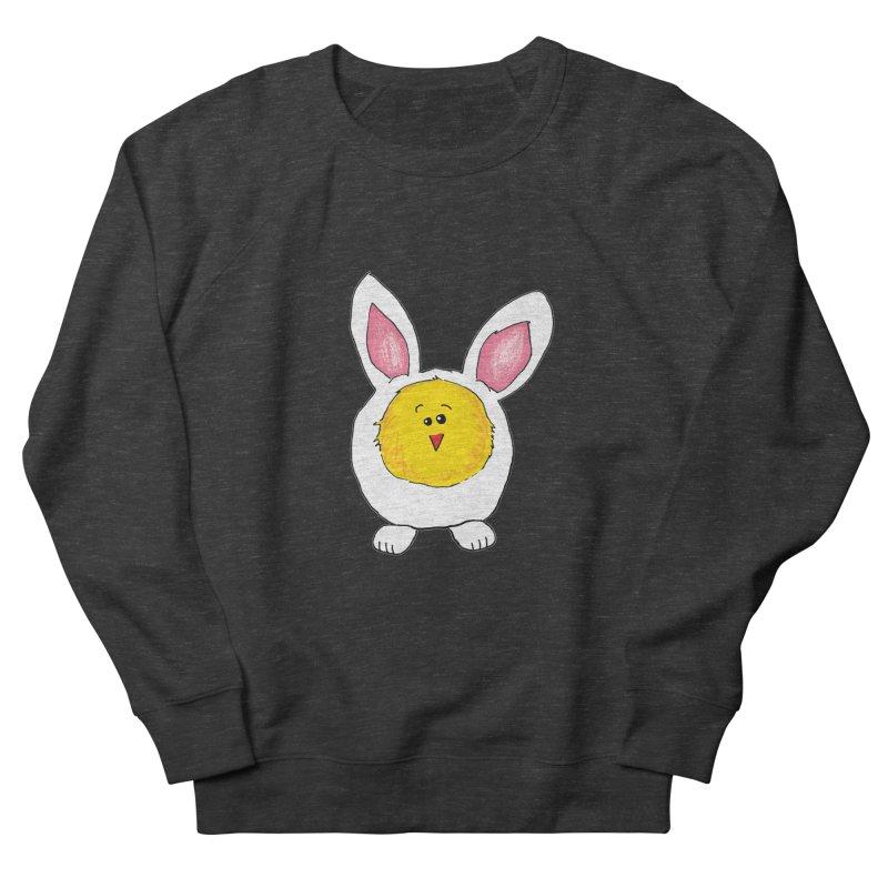 Chick in a Bunny Suit Men's Sweatshirt by The Pickle Jar's Artist Shop