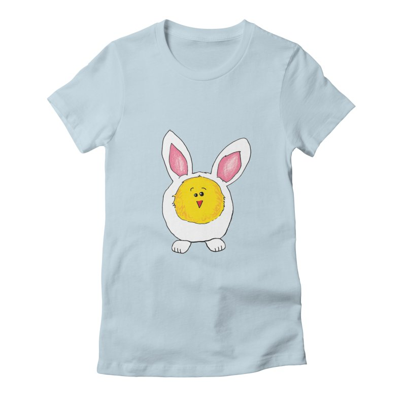 Chick in a Bunny Suit Women's T-Shirt by The Pickle Jar's Artist Shop