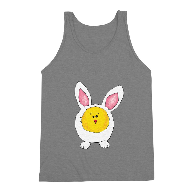 Chick in a Bunny Suit Men's Tank by The Pickle Jar's Artist Shop