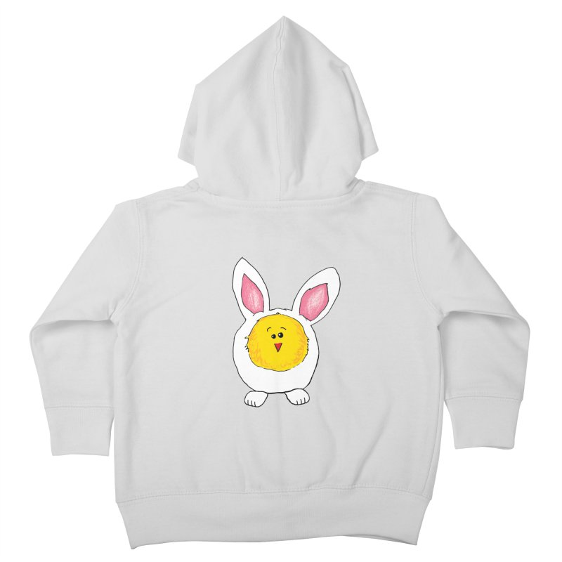 Chick in a Bunny Suit Kids Toddler Zip-Up Hoody by The Pickle Jar's Artist Shop